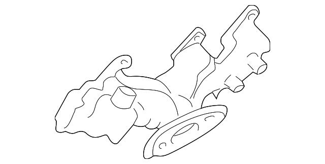 1996 2005 Gm Exhaust Manifold 24506309