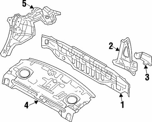 2000 Mitsubishi Mirage Parts