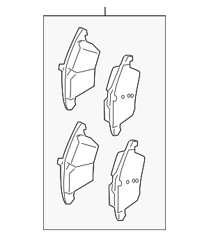 Brake Pads - Land-Rover (LR072681)
