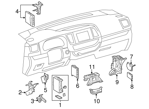 Electrical Components for 2016 Toyota Highlander #0