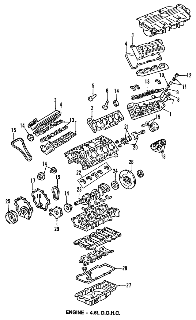 Head Gasket - GM (12560632)