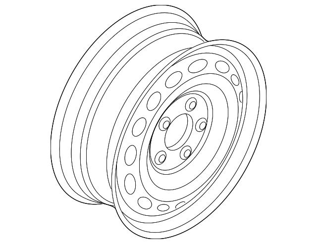 2017 2018 Volvo V60 Cross Country Wheel Spare 31664056