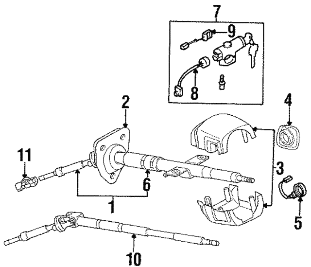 Ignition Lamp - Nissan (48476-30P00)