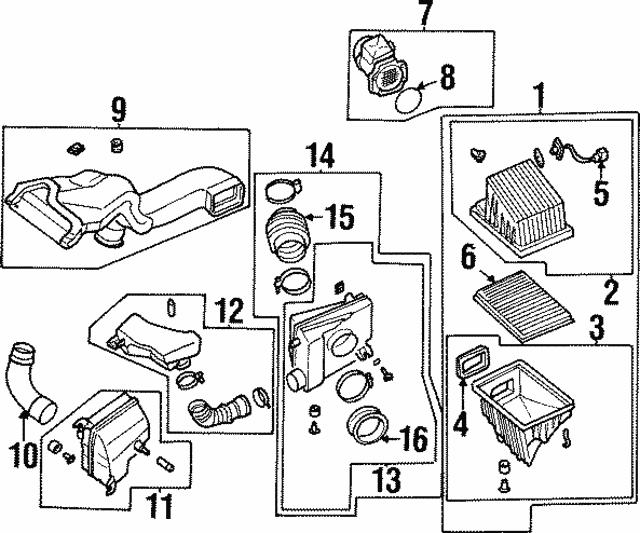 1996 Infiniti I30 Parts Manual