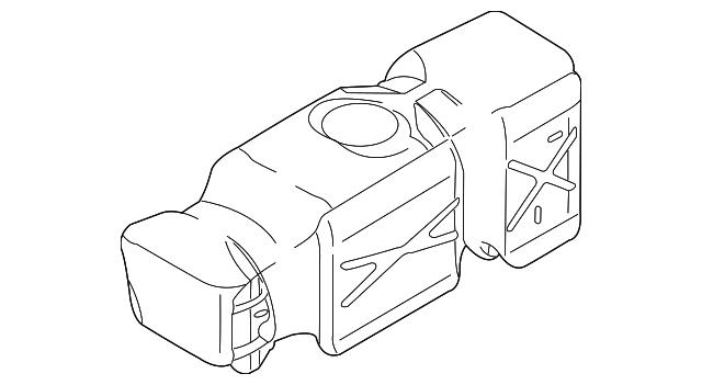 2005 Dodge Fuel Tank 52122206ab