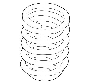 Coil Spring - BMW (31-33-6-790-098)