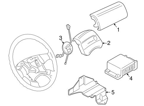 Air Bag Components For 1997 Volkswagen Eurovan