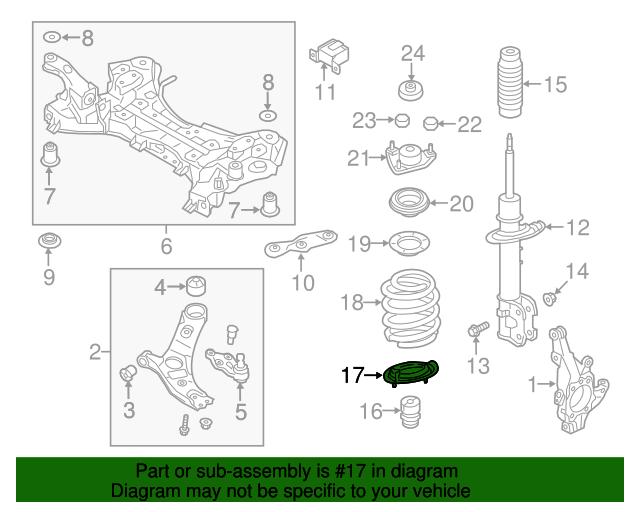Genuine Hyundai 54633-2W000 Spring Pad