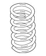 Coil Spring, Right, Rear Right Right, Rear Right