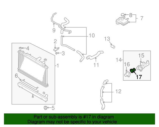 2000 2004 mazda mpv & tribute engine coolant thermostat oem new gy01 2004 ford f-150 thermostat diagram 2000 2004 mazda mpv & tribute engine coolant thermostat oem new gy01 15