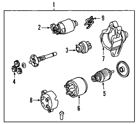ELECTRICAL/STARTER for 2003 Toyota Matrix #2