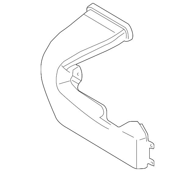 2013-2019 Ford Fusion Extension DG9Z-10C665-H