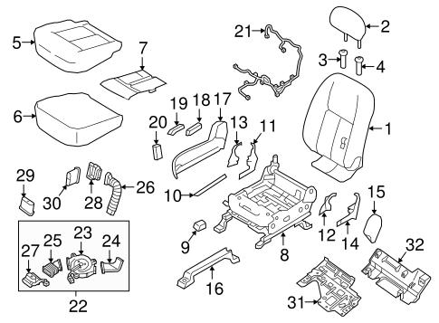 Power Seats For 2018 Nissan Titan