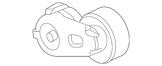 serpentine tensioner - ford (7c3z-6b209-e)