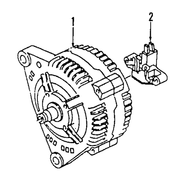 Alternator - Volkswagen (021-903-025-CX)