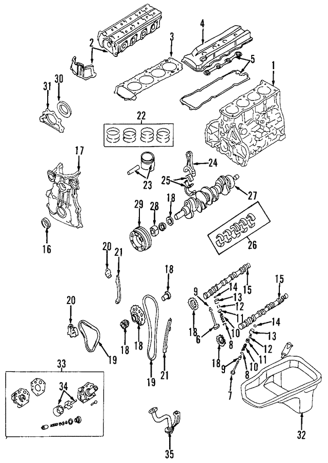 2004 nissan frontier engine diagram 2001 2004 nissan engine camshaft 13020 f451a nissan parts plus  2004 nissan engine camshaft 13020 f451a