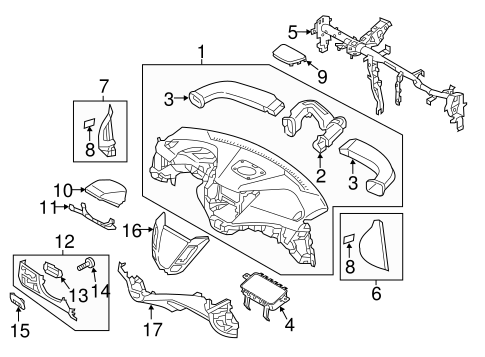 Instrument Panel Parts