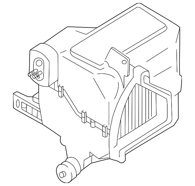 Kia Kia Evaporator Assembly 0k30a 61520d Genuine Kia Parts