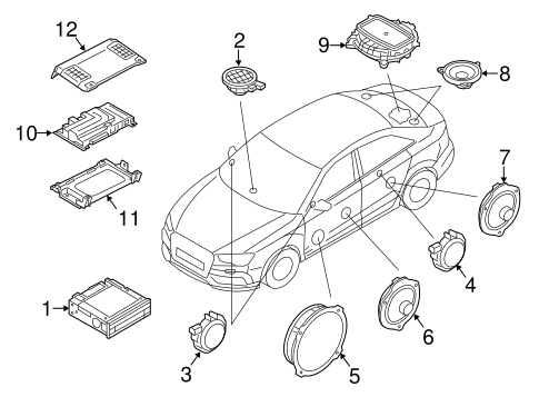 Sound System For 2015 Audi A3