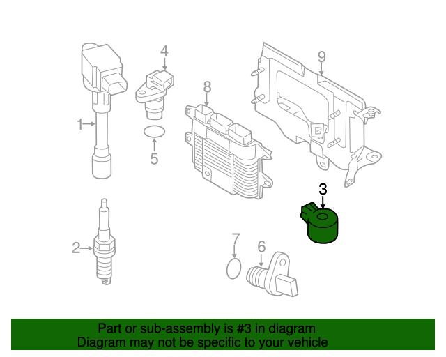 22060-30P00 Engine Knock Sensor available via PricePi com