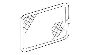 Cargo Net - Mercedes-Benz (208-814-00-07-8J17)