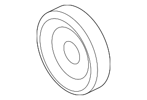 Pulley - Ford (7H6Z-19D784-A)