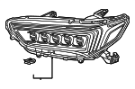 Headlight Assembly, L - Acura (33150-TZ3-A51)
