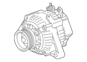 2001-2003 Toyota Highlander - Alternator - Toyota (27060-20170-84)