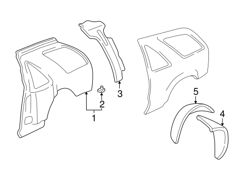 Inner Structure For 2000 Gmc Jimmy