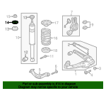 Washer, Shock Absorber Mounting