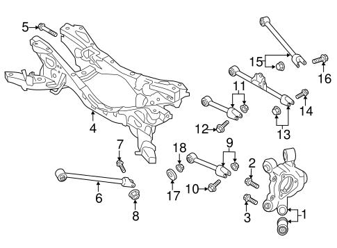 Rear Suspension For 2018 Mazda Mx 5 Miata
