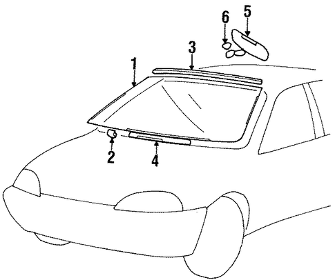 Slide Up Door Car moreover Tail Gate Scat besides Sunroof Scat in addition Outside Mirrors Scat together with Glass Windshield Scat. on ford oem auto glass