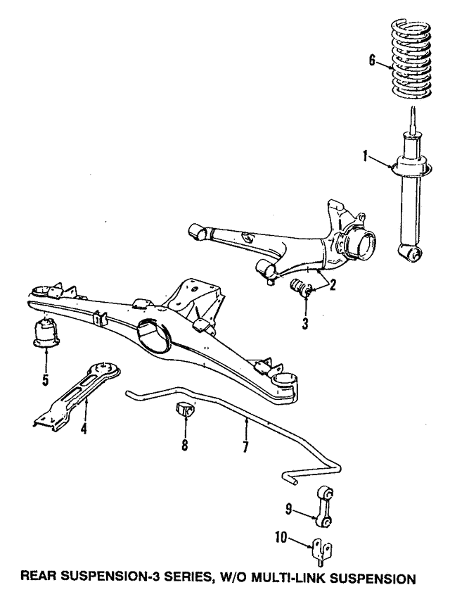 Shock Absorber - BMW (33-52-1-091-999)