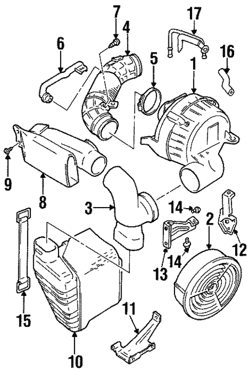 2001 Chevy Prizm Engine Diagram