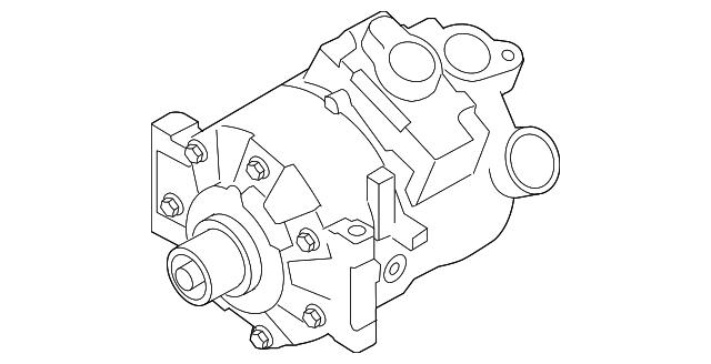Volvo Compressor 36002746
