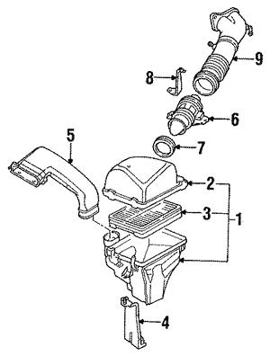 genuine oem mazda air intake parts realmazda Mazda 6 Floor Mats air filter
