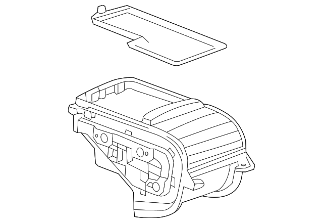 Partment Box GM 95101828: Buick Encore 2016 Engine Diagram At Teydeco.co