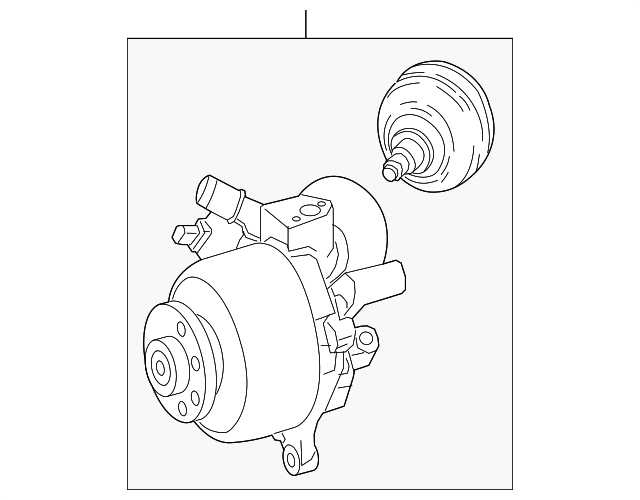 Mercedes Benz Hydraulic Pump 000 329 00 00