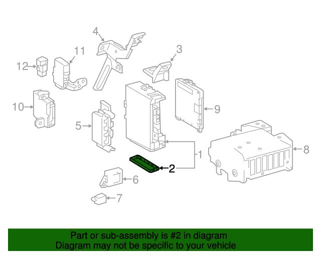 fuse box cover toyota 82672 04020 toyota parts rh parts olathetoyota com Toyota Camry Fuse Box 2015 Toyota 4Runner Fuse Box