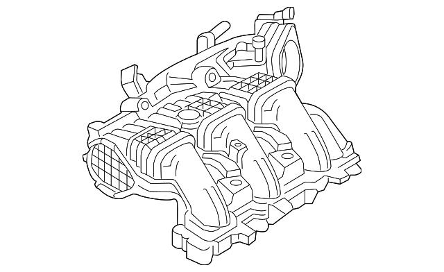 2012 2018 Ford Intake Manifold Ft4z 9424 D