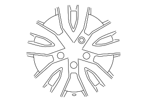 Wheel, Steel - Nissan (40300-3LM0B)