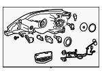Headlamp Assembly - Nissan (26010-3YU0A)