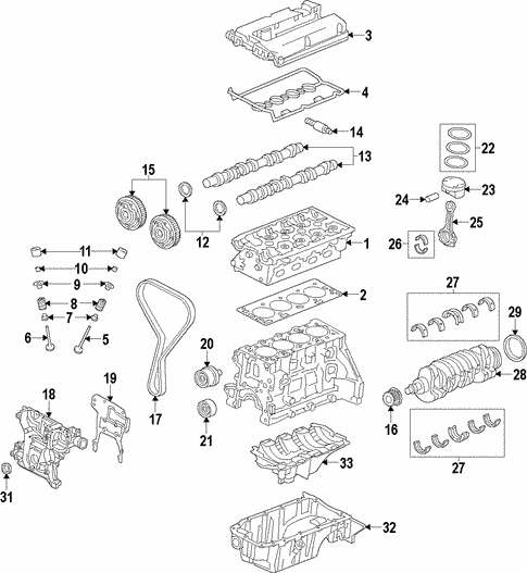 oem 2013 chevrolet sonic engine parts gmpartsonline net starter diagram 2012 chevy sonic engine engine for 2013 chevrolet sonic 1