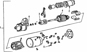 (10496871) STARTER MOTOR-REMANUFACTURED