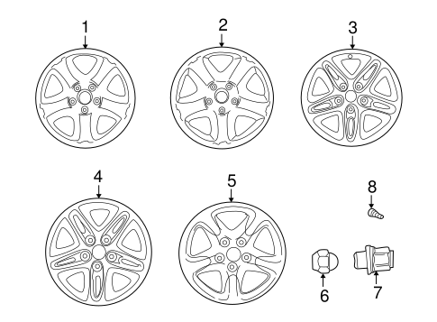 Wheels for 2001 Toyota RAV4 #0