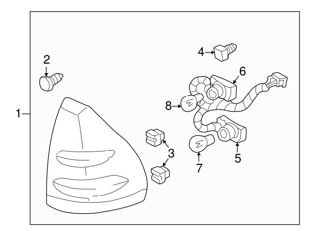 socket wire gm 12083689 gmpartsdirect 97 Chevrolet Cavalier Coolant Fluid