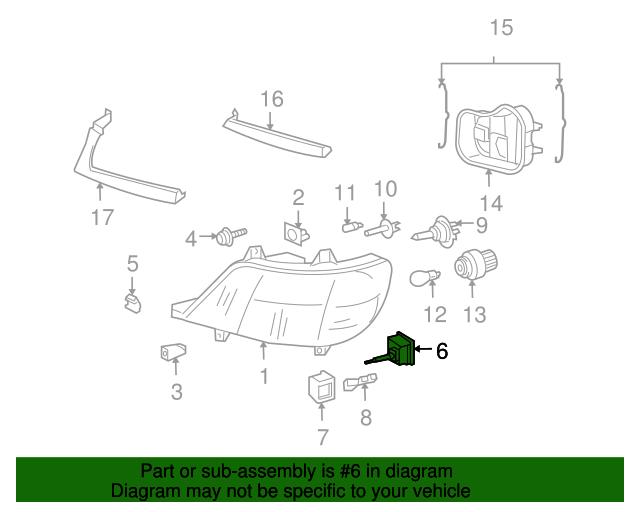 Leveling Motor Mopar 5103688aa Mymoparparts