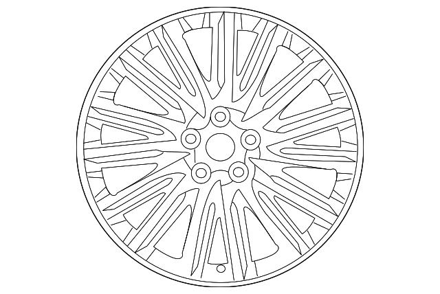 Kia 52950-37100 Wheel Lug Nut