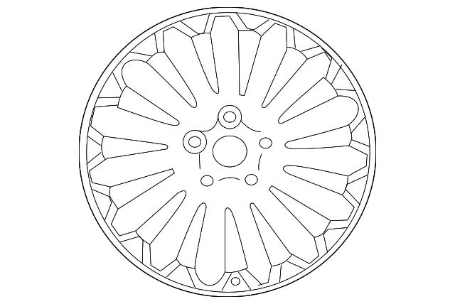 2015 kia k900 wheel alloy 52910 3t270 raceway kia parts Kia Key wheel alloy kia 52910 3t270