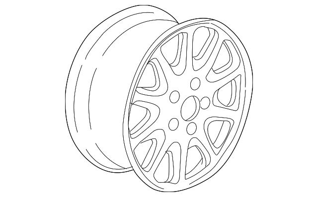 1995 2001 Bmw Wheel Alloy 36 11 1 090 224